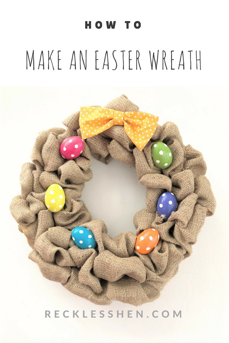 Make an Easter wreath by RecklessHen